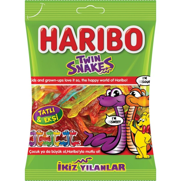 Haribo 67 Gr Twin Snakes