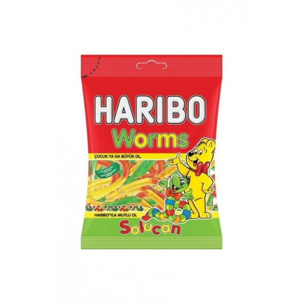 Haribo 80 gr Worms
