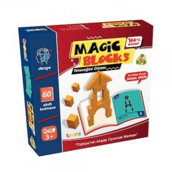 Magic Blocks Ahşap