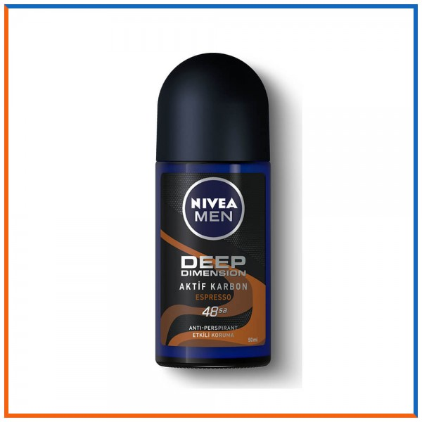 Nivea Men Deep Dimension Aktif Karbon Espresso Roll-On